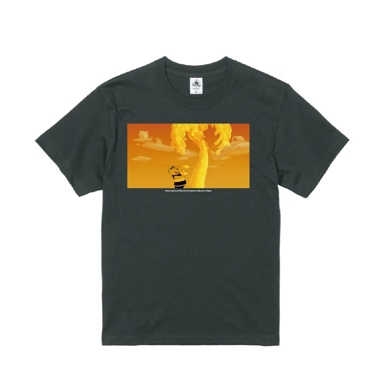 【D-Made】Tシャツ メンズ  はちみつの歌 くまのプーさん