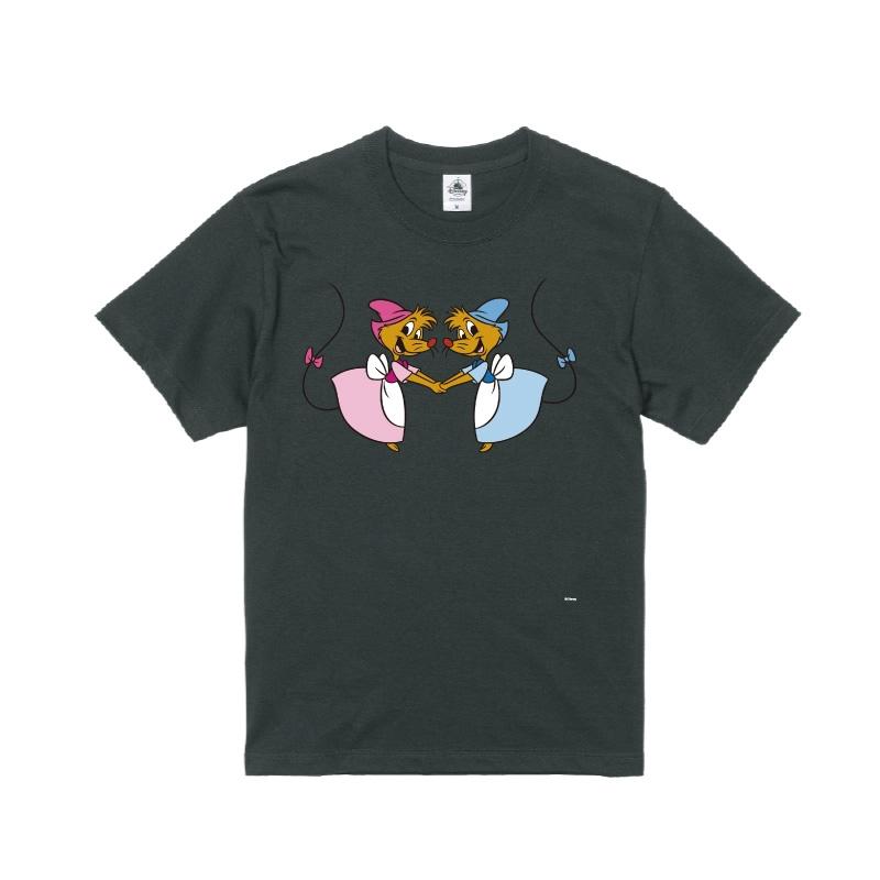 【D-Made】Tシャツ メンズ  イヤーオブマウス シンデレラ スージー&パーラ