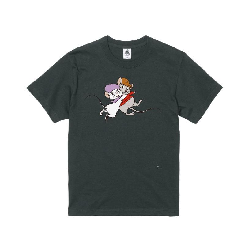 【D-Made】Tシャツ メンズ  イヤーオブマウス ビアンカの大冒険 ビアンカ&バーナード