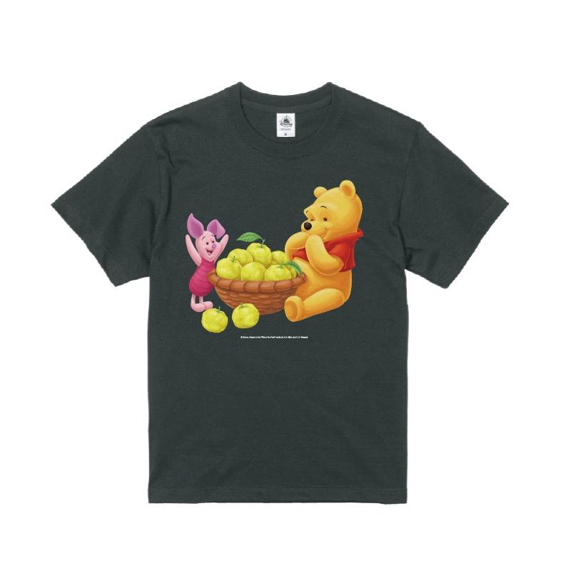 【D-Made】Tシャツ メンズ  ゆず くまのプーさん プー&ピグレット