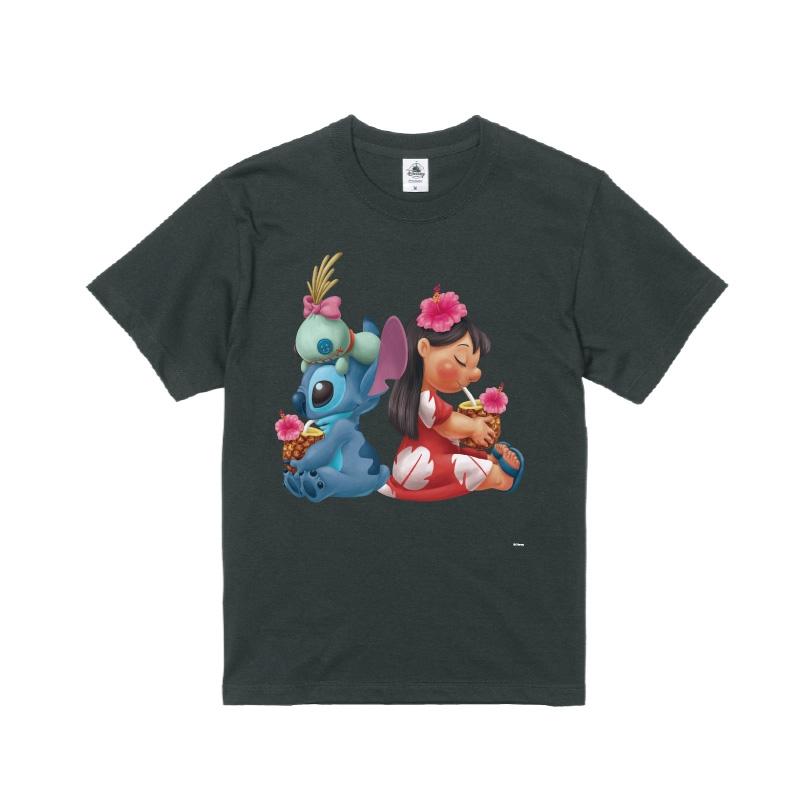 【D-Made】Tシャツ メンズ  リロ&スティッチ&スクランプ