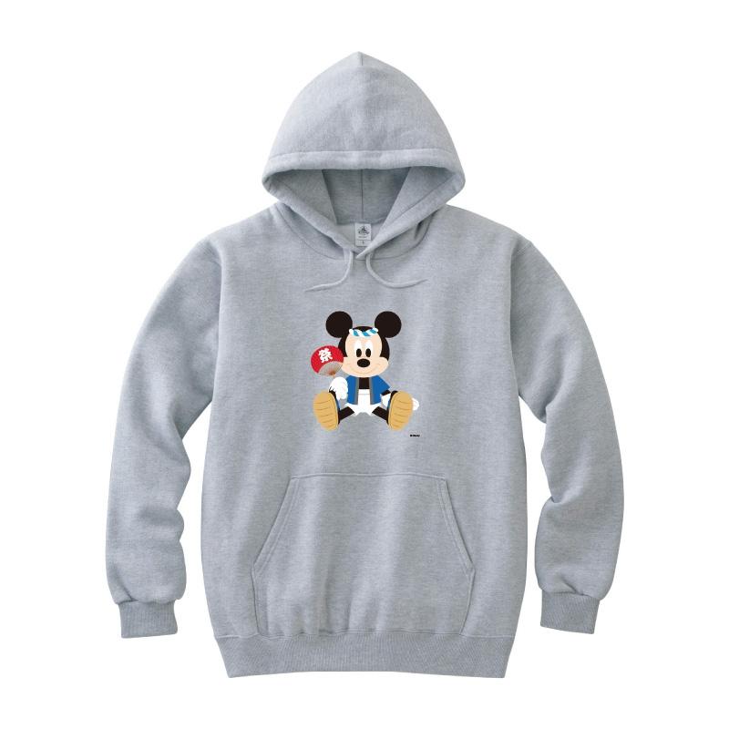 【D-Made】パーカー レディース M ミッキーマウス お祭り