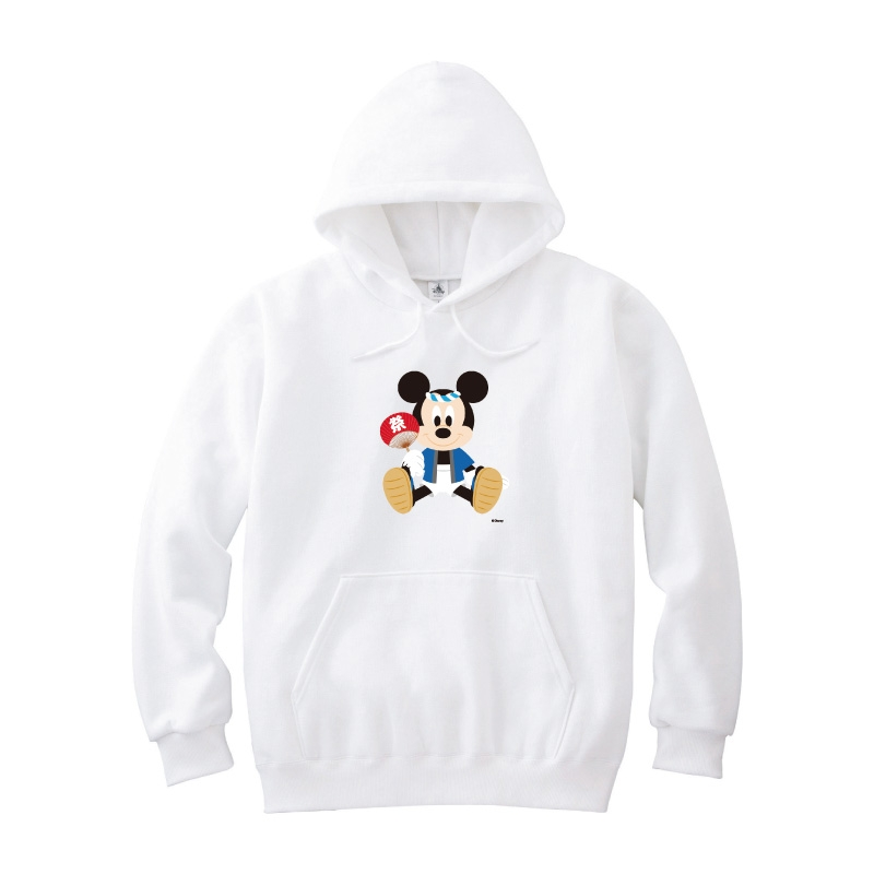 【D-Made】パーカー メンズ  ミッキーマウス お祭り