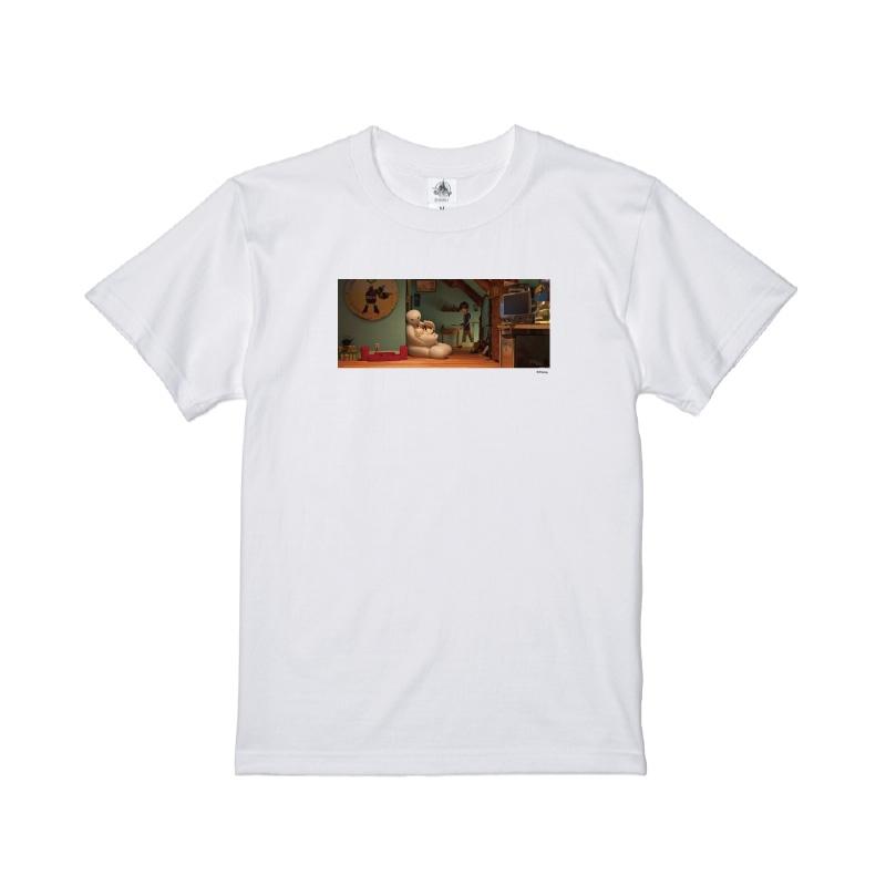 【D-Made】Tシャツ 映画 『ベイマックス』 ヒロ・ハマダ&ベイマックス&モチ