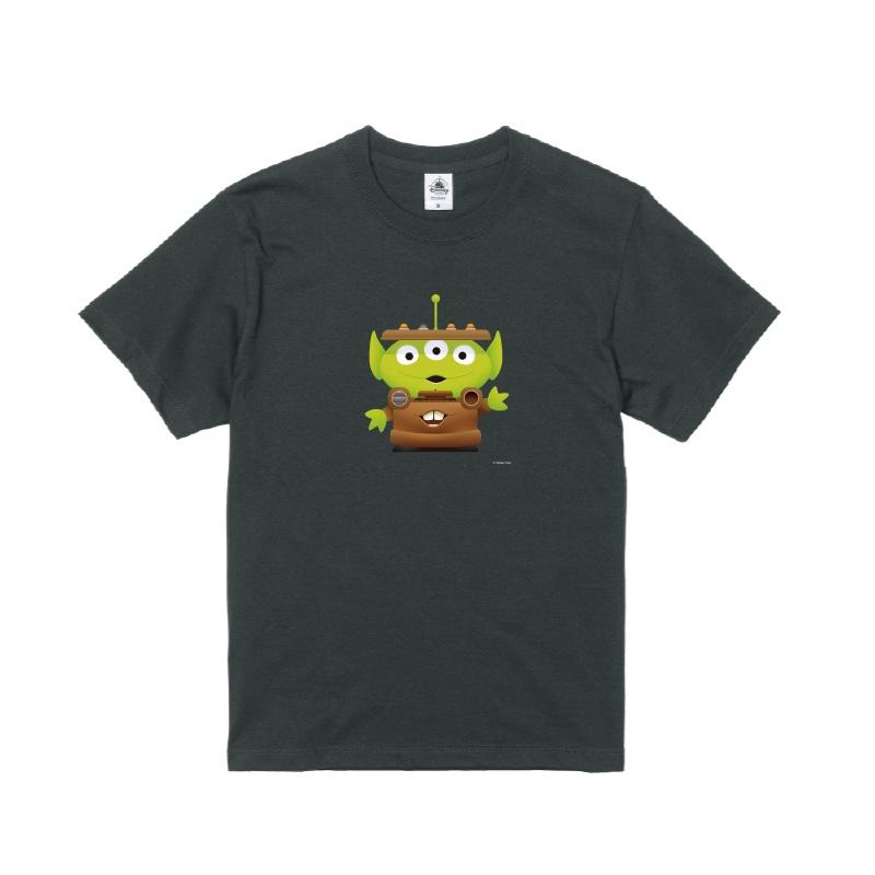 【D-Made】Tシャツ トイ・ストーリー リトル・グリーン・メン/エイリアン カーズ メーター
