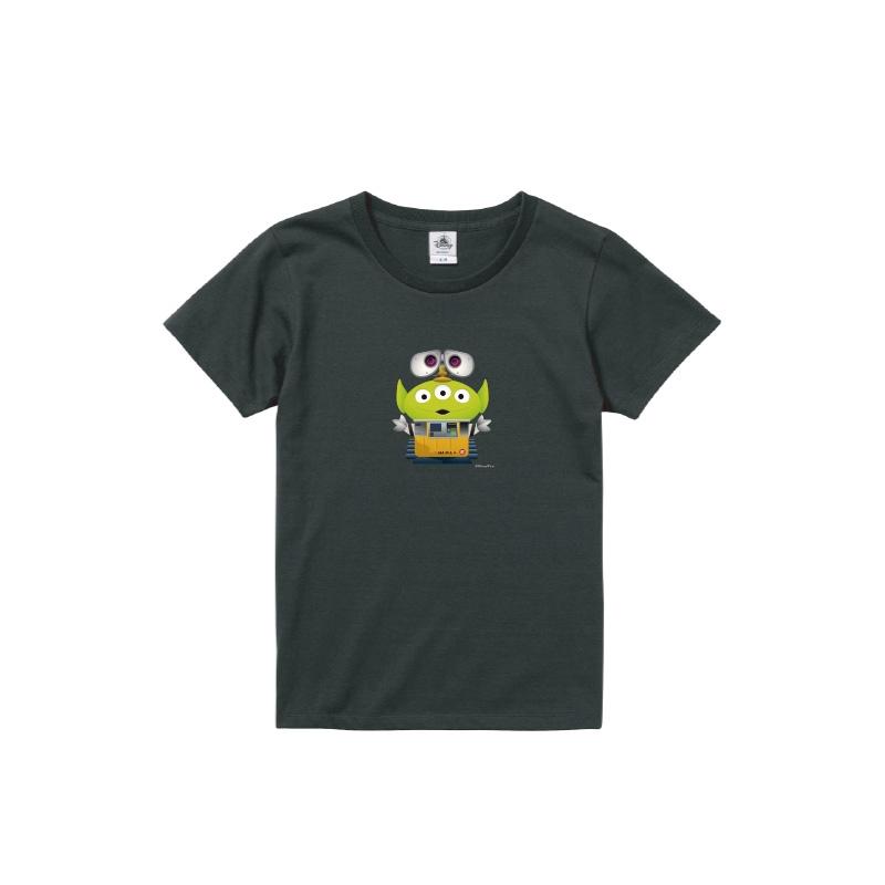 【D-Made】Tシャツ レディース  トイ・ストーリー リトル・グリーン・メン/エイリアン ウォーリー