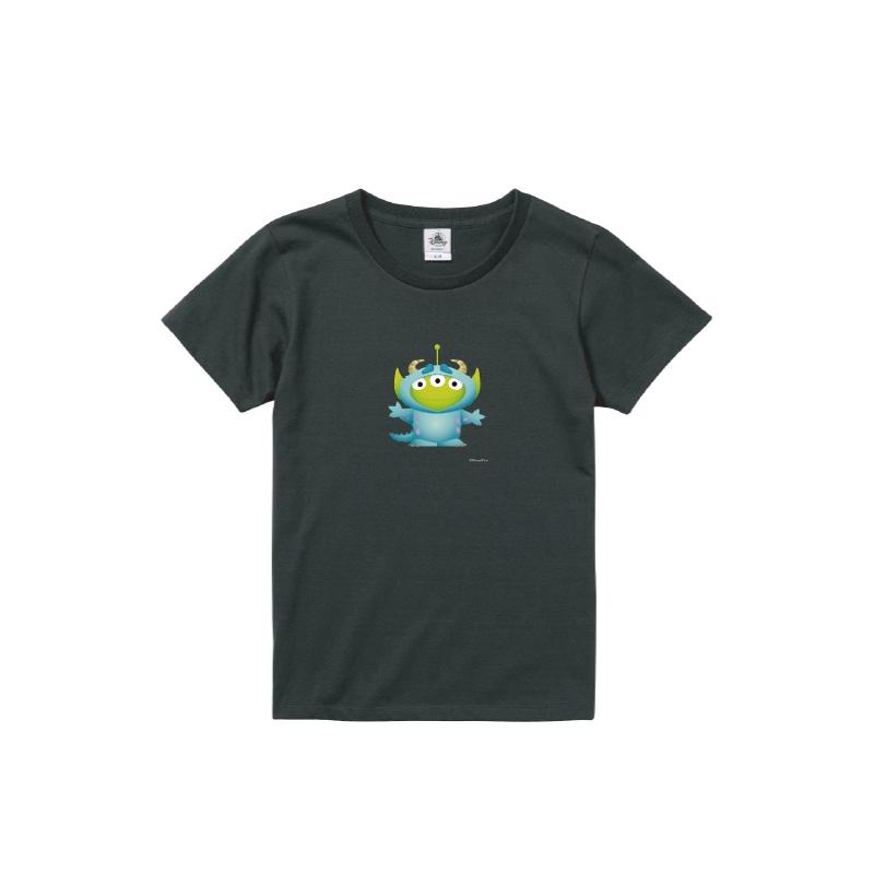 【D-Made】Tシャツ レディース  トイストーリー エイリアン モンスターズインク サリー