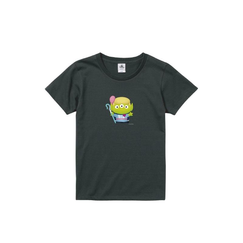 【D-Made】Tシャツ レディース  トイ・ストーリー リトル・グリーン・メン/エイリアン ボー・ピープ