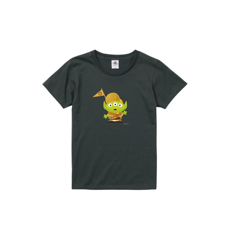 【D-Made】Tシャツ レディース  トイストーリー エイリアン カールじいさんの空飛ぶ家 ラッセル