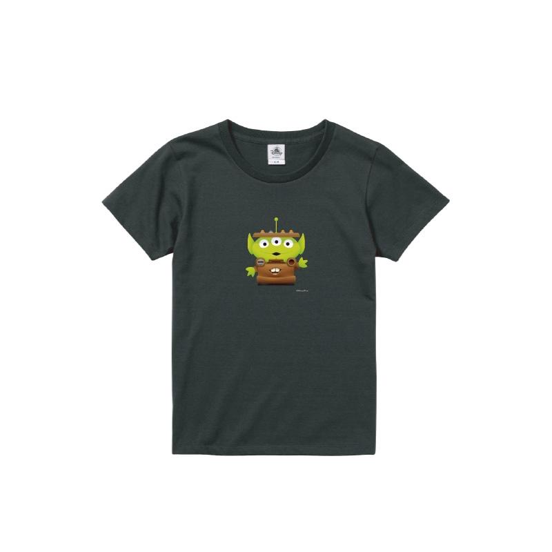 【D-Made】Tシャツ レディース  トイストーリー エイリアン カーズ メーター