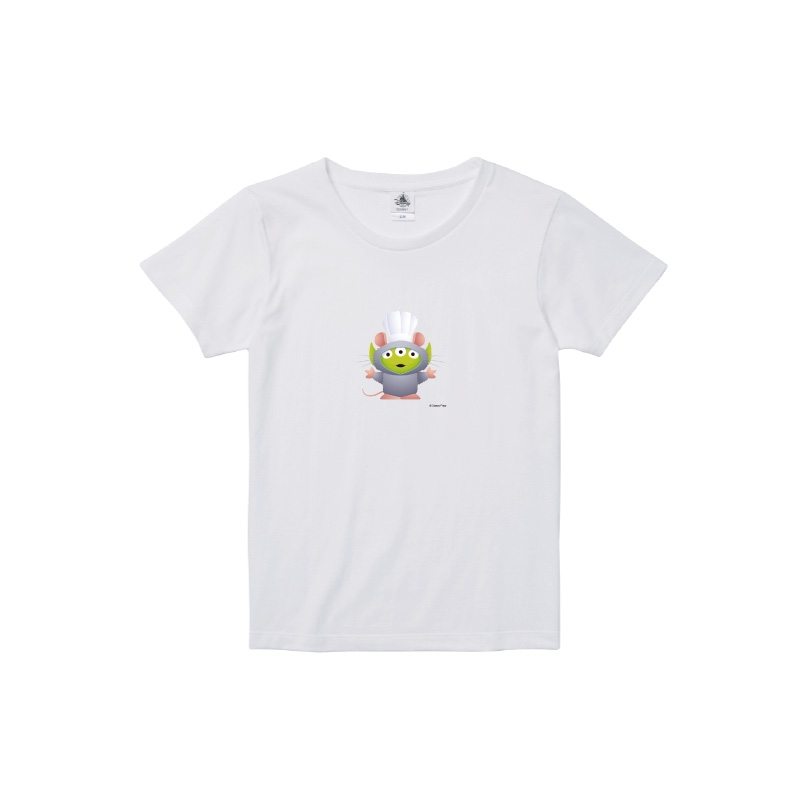 【D-Made】Tシャツ レディース  トイストーリー エイリアン レミーのおいしいレストラン レミー