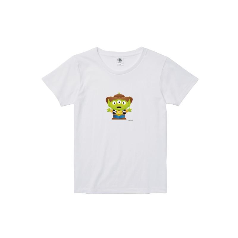 【D-Made】Tシャツ レディース  トイストーリー エイリアン ウッディー