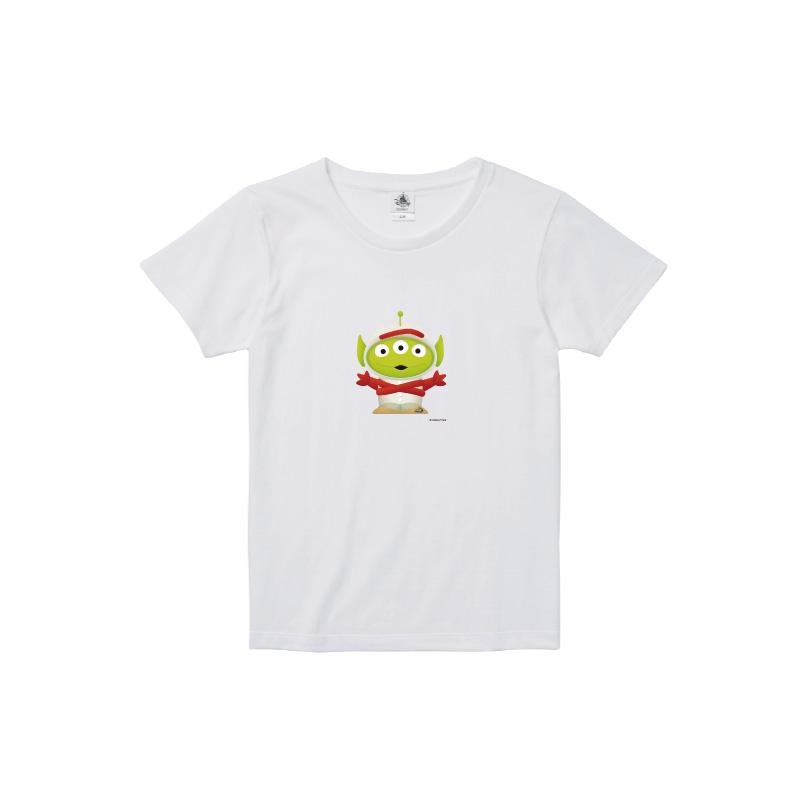 【D-Made】Tシャツ レディース  トイストーリー エイリアン フォーキー