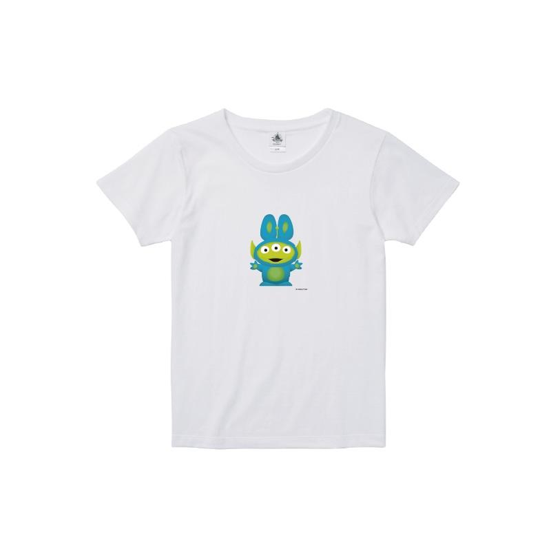 【D-Made】Tシャツ レディース  トイストーリー エイリアン バニー
