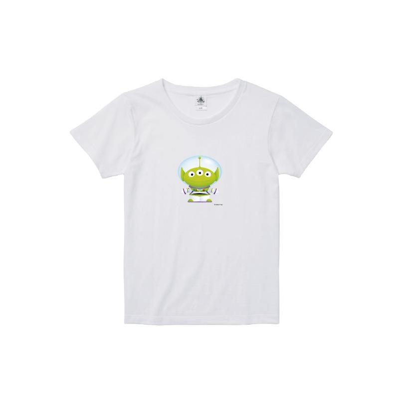【D-Made】Tシャツ レディース  トイストーリー エイリアン バズライトイヤー
