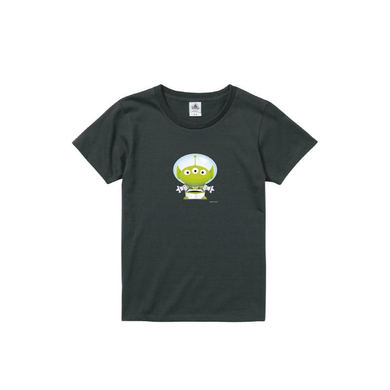【D-Made】Tシャツ レディース  トイ・ストーリー リトル・グリーン・メン/エイリアン バズ・ライトイヤー