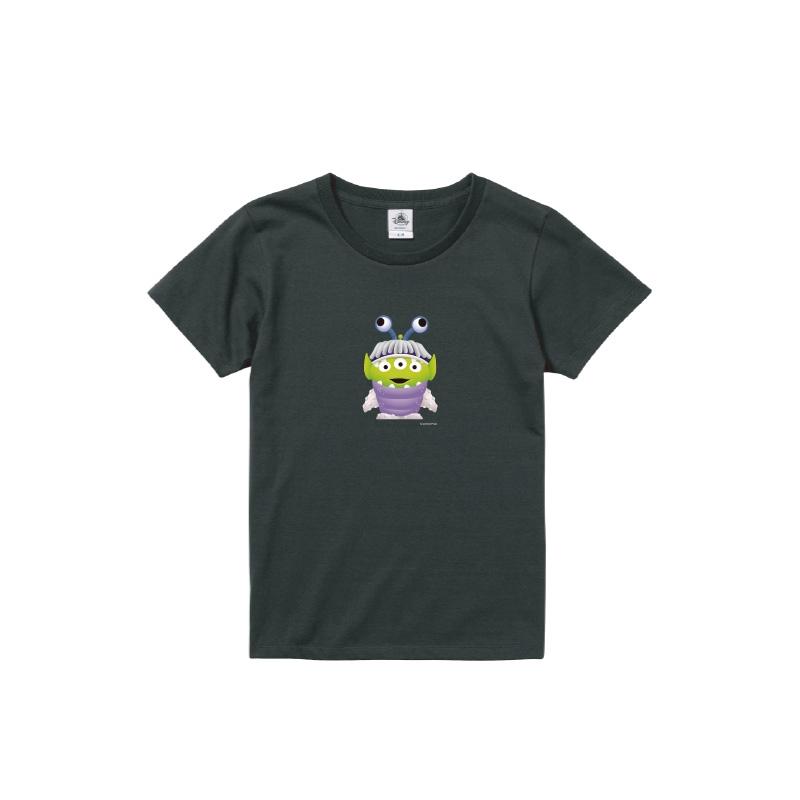 【D-Made】Tシャツ レディース  トイストーリー エイリアン モンスターズインク ブー