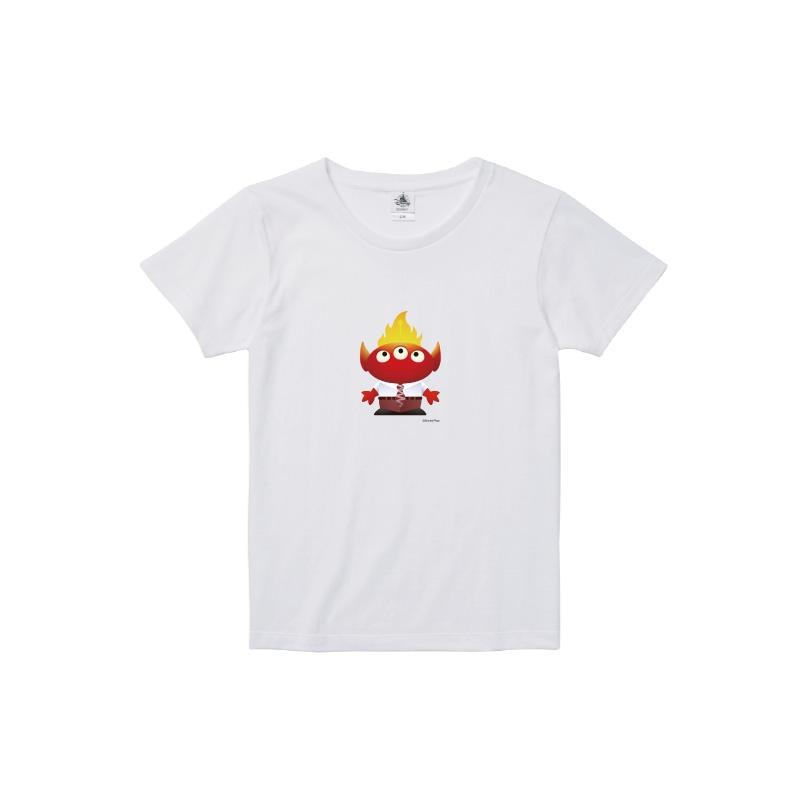 【D-Made】Tシャツ レディース  トイ・ストーリー リトル・グリーン・メン/エイリアン インサイド・ヘッド イカリ
