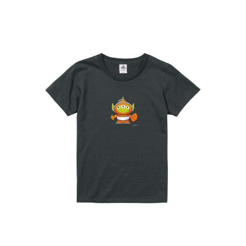 【D-Made】Tシャツ レディース  トイ・ストーリー リトル・グリーン・メン/エイリアン ファインディング・ニモ ニモ