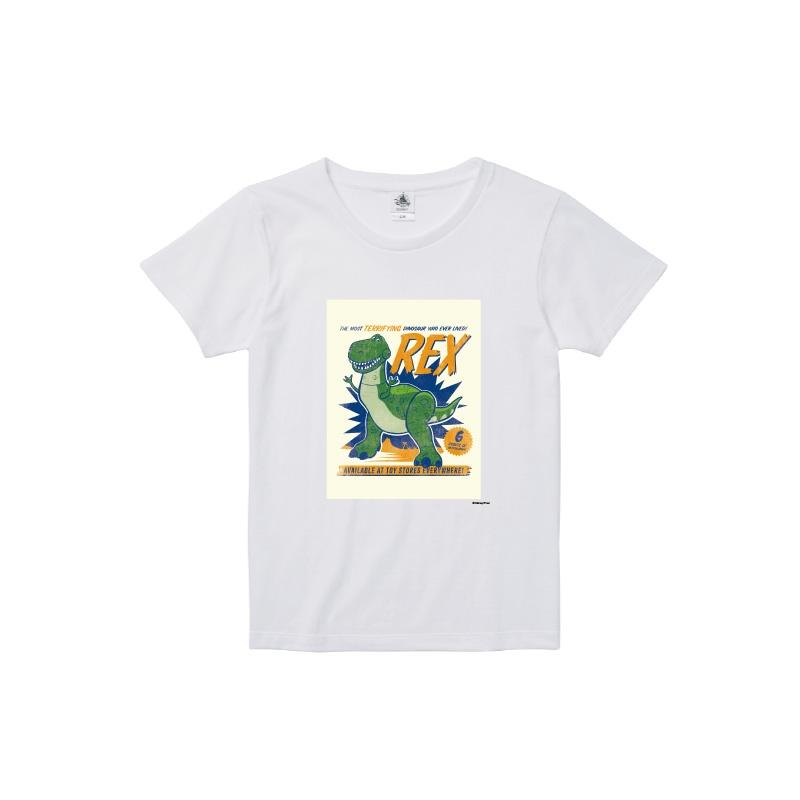 【D-Made】Tシャツ レディース  トイ・ストーリー レックス