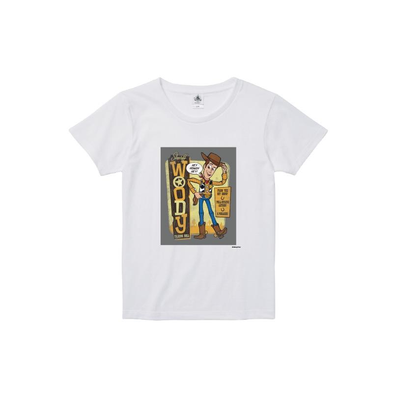【D-Made】Tシャツ レディース  トイ・ストーリー ウッディ