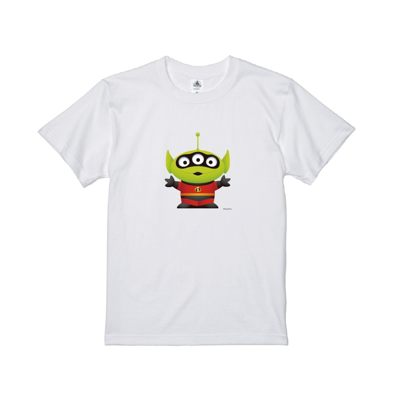 【D-Made】Tシャツ メンズ  トイ・ストーリー リトル・グリーン・メン/エイリアン ミスター・インクレディブル