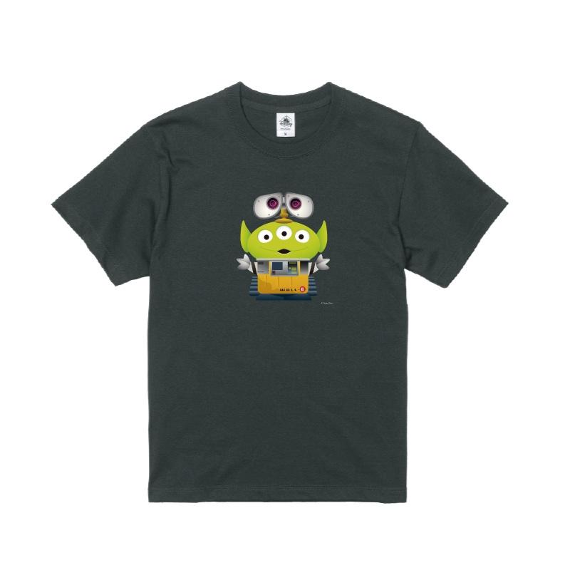 【D-Made】Tシャツ メンズ  トイストーリー エイリアン ウォーリー