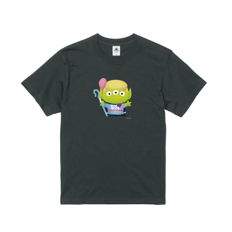 【D-Made】Tシャツ メンズ  トイ・ストーリー リトル・グリーン・メン/エイリアン ボー・ピープ