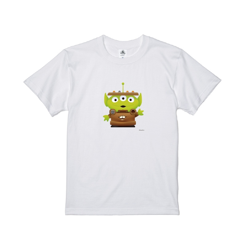 【D-Made】Tシャツ メンズ  トイ・ストーリー リトル・グリーン・メン/エイリアン カーズ メーター