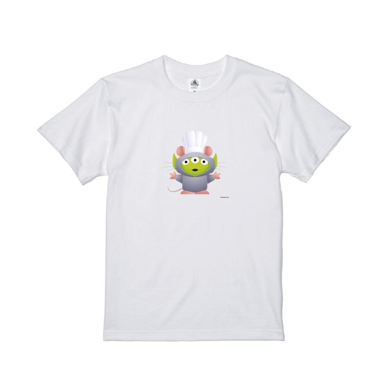 【D-Made】Tシャツ メンズ  トイ・ストーリー リトル・グリーン・メン/エイリアン レミーのおいしいレストラン レミー