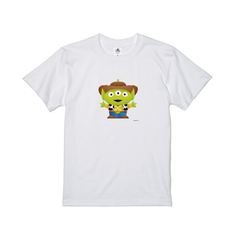 【D-Made】Tシャツ メンズ  トイ・ストーリー リトル・グリーン・メン/エイリアン ウッディ