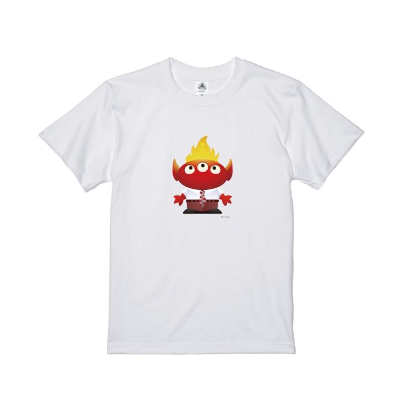 【D-Made】Tシャツ メンズ  トイ・ストーリー リトル・グリーン・メン/エイリアン インサイド・ヘッド イカリ