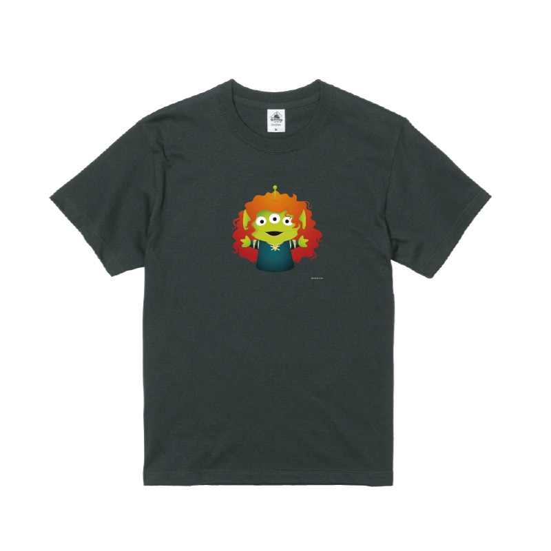 【D-Made】Tシャツ メンズ  トイ・ストーリー リトル・グリーン・メン/エイリアン メリダとおそろしの森 メリダ