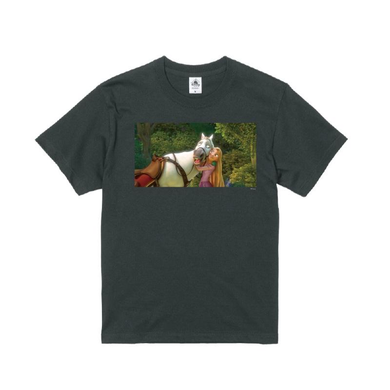 【D-Made】Tシャツ 映画 『塔の上のラプンツェル』 ラプンツェル&マキシマス
