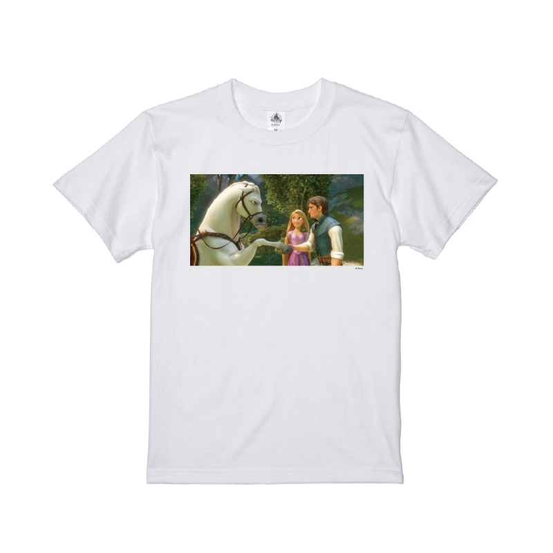 【D-Made】Tシャツ 映画 『塔の上のラプンツェル』 ラプンツェル&フリン・ライダー&マキシマス