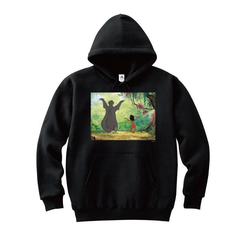 【D-Made】パーカー 映画 『ジャングル・ブック』 モーグリ&バルー