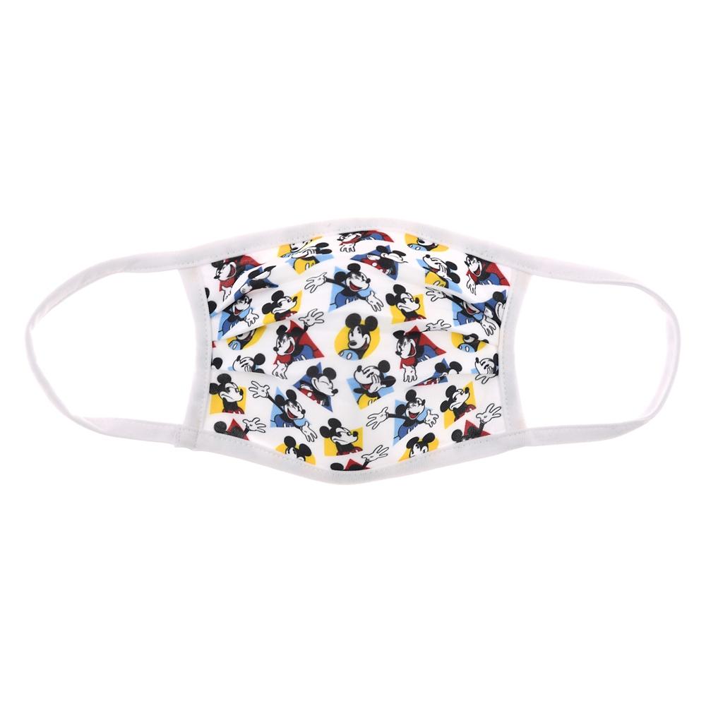 ミッキー 家庭用布マスク レトロ