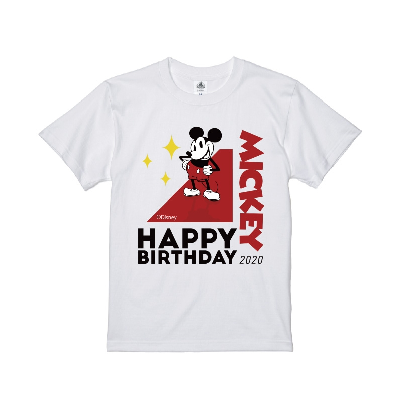 【D-Made】Tシャツ ミッキー バースデー2020