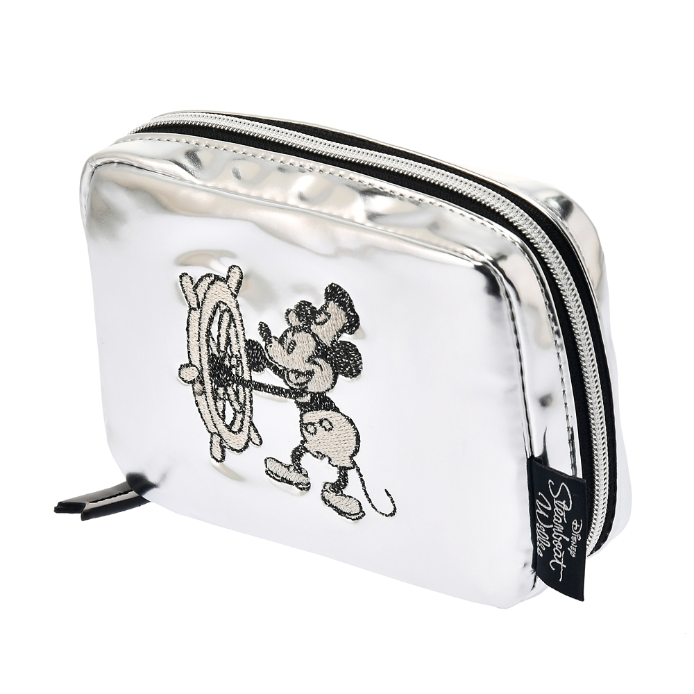 【ACCOMMODE】ミッキー ポーチ パテント Steamboat Willie