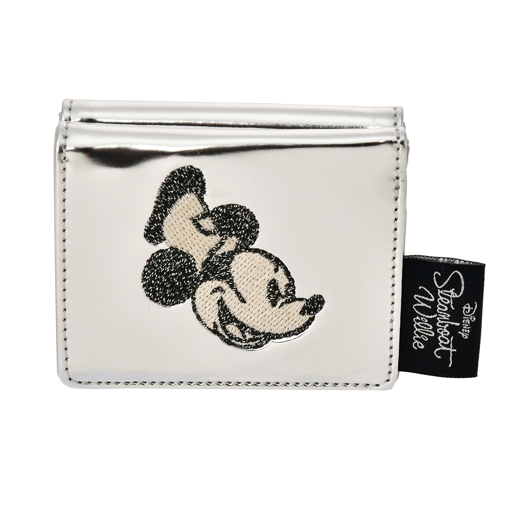 【ACCOMMODE】ミッキー 財布・ウォレット パテント Steamboat Willie