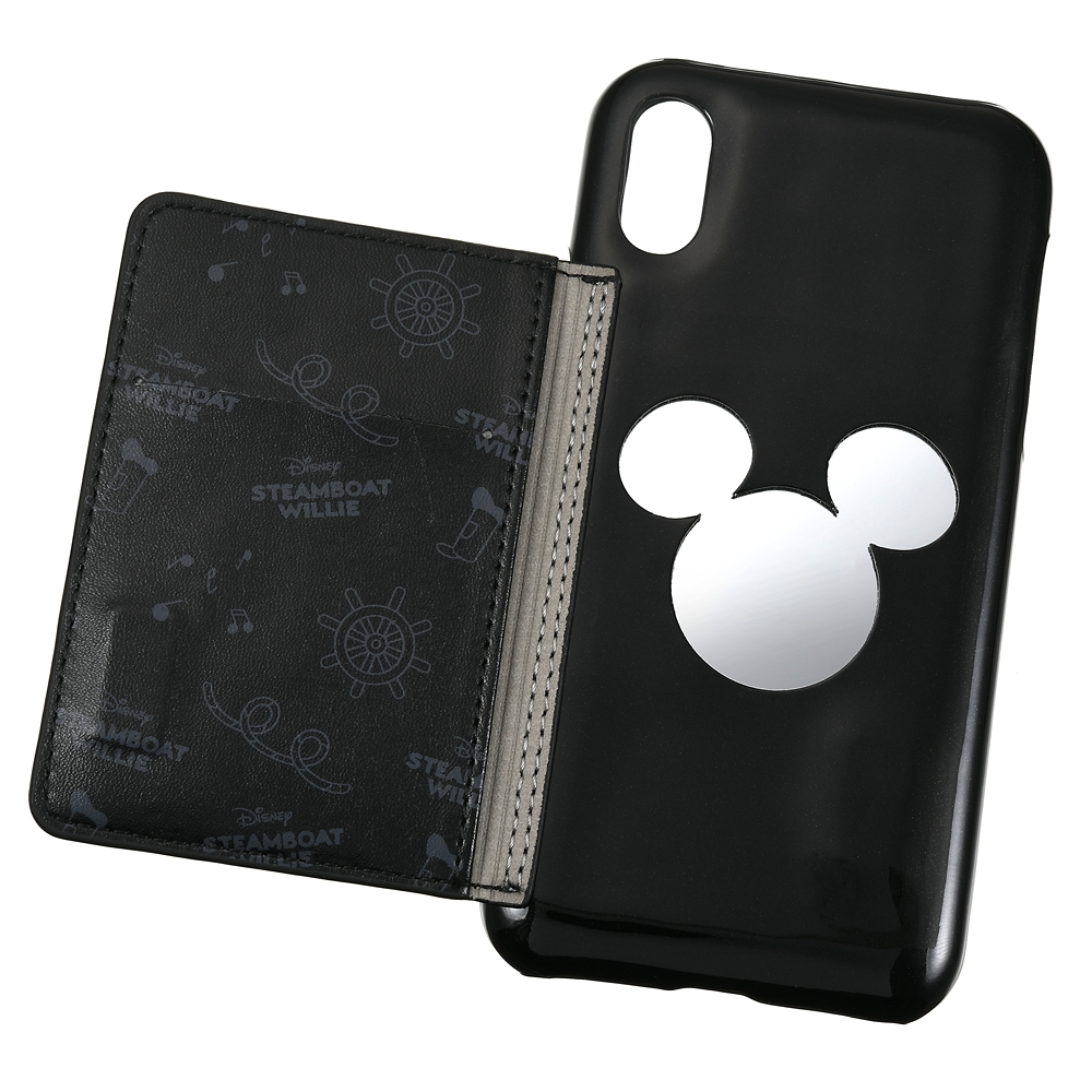 【ACCOMMODE】ミッキー iPhone X/XS用スマホケース・カバー パテント Steamboat Willie