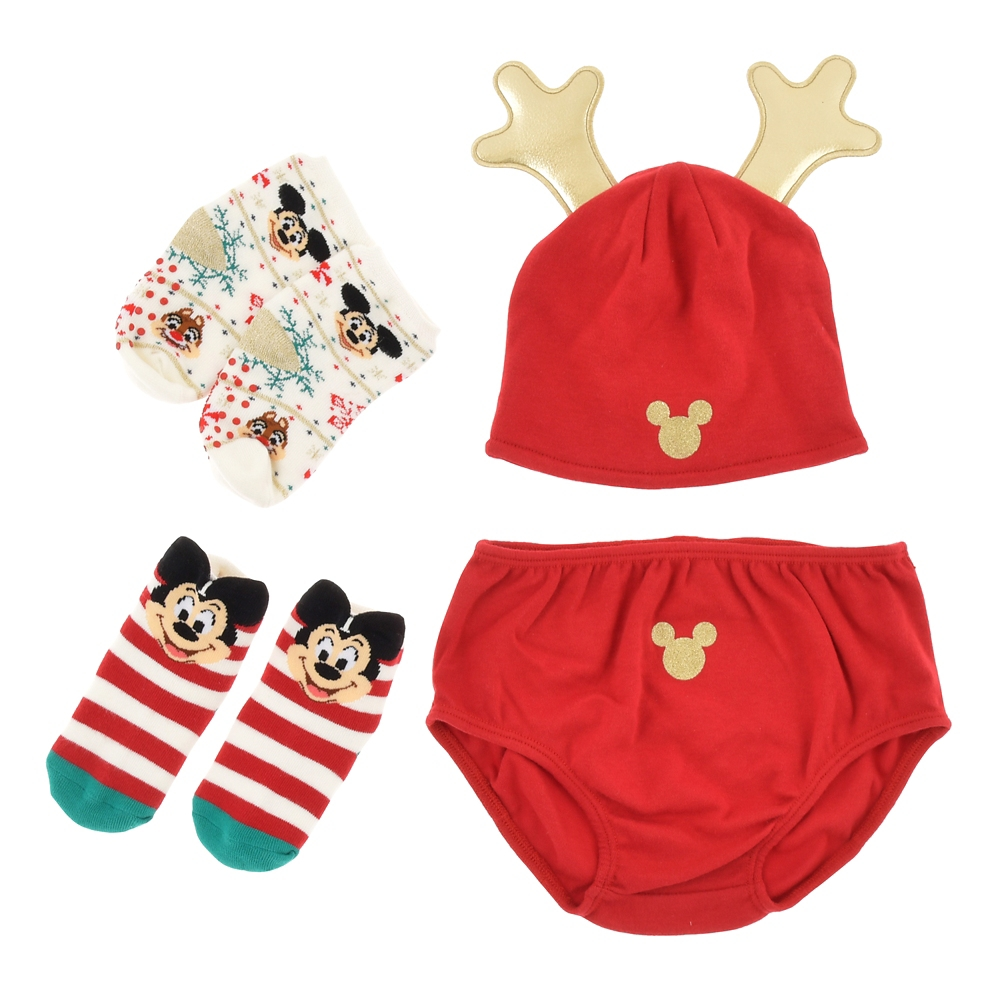ミッキー&フレンズ 靴下セット ファーストクリスマス Disney Christmas 2020