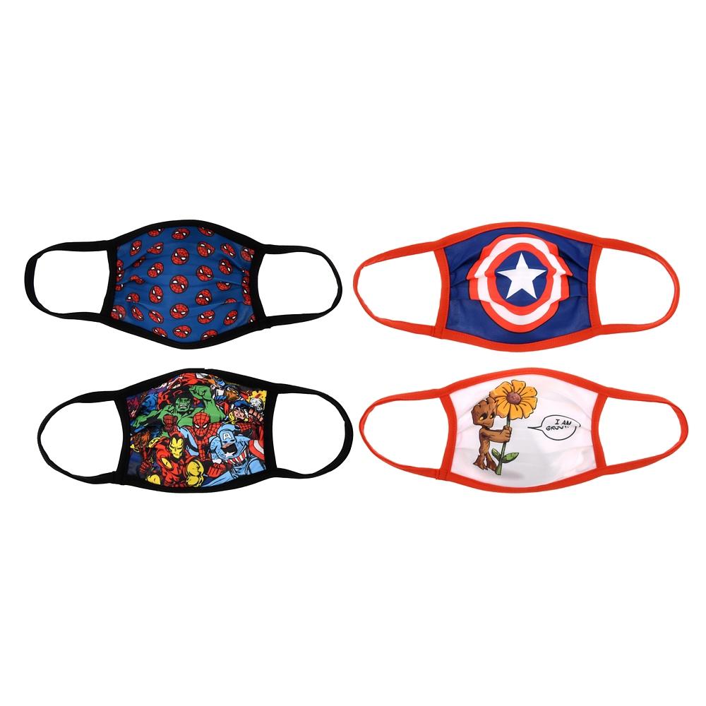 マーベル 家庭用布マスク 4枚セット