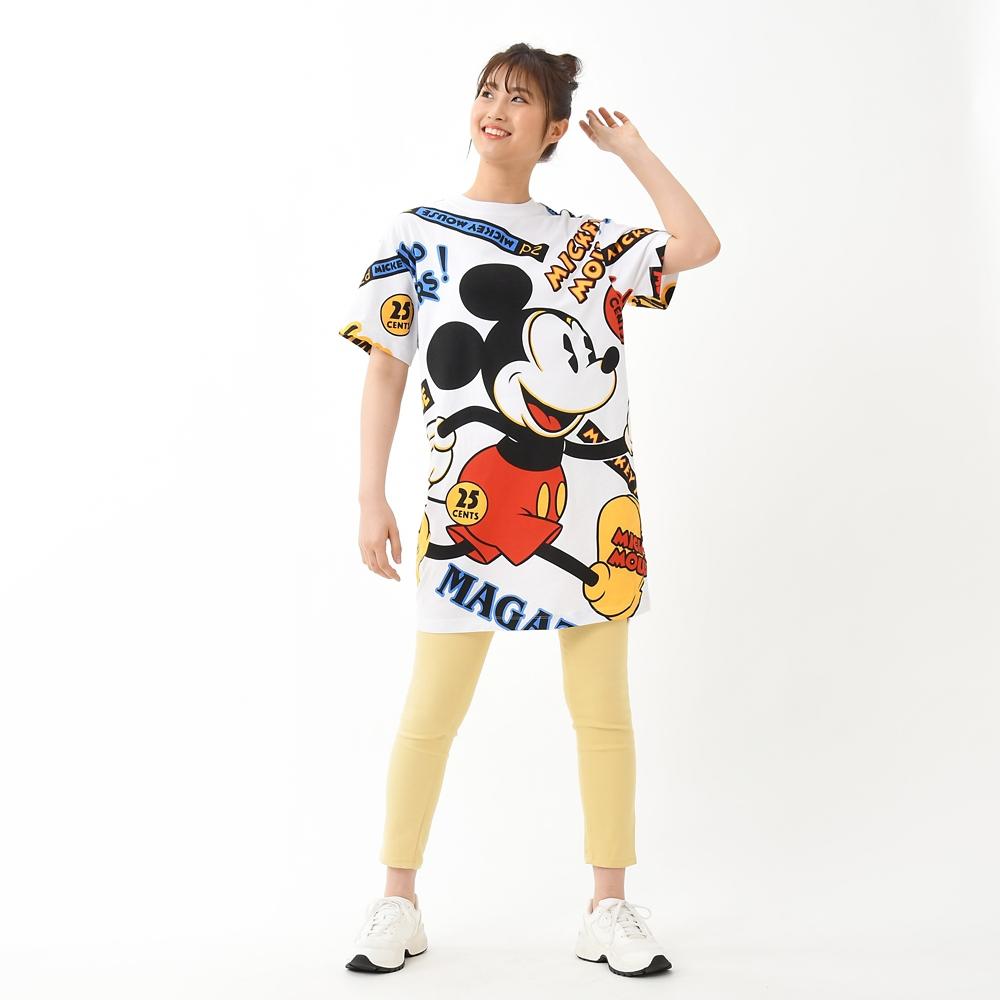 ミッキー 半袖Tシャツ ビッグ Mickey & Co.