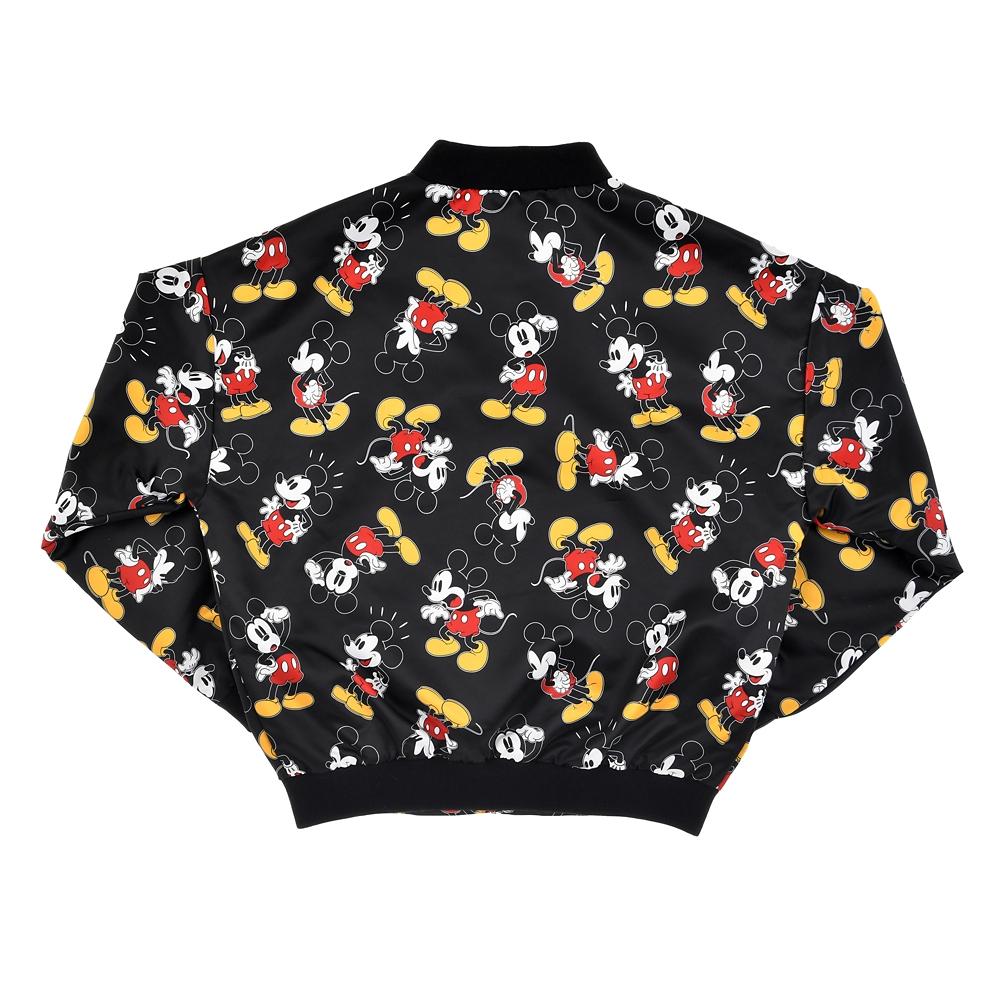 ミッキー ジャケット 総柄 ブラック Mickey & Co.