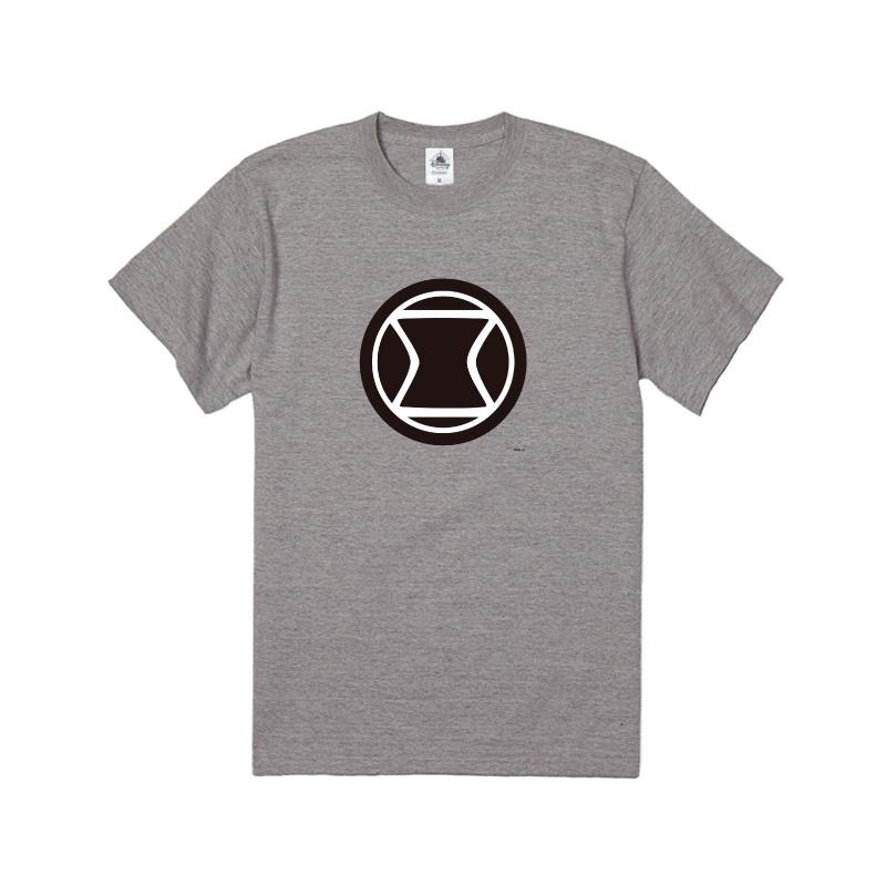 【D-Made】Tシャツ  MARVEL アイコン ブラック・ウィドウ
