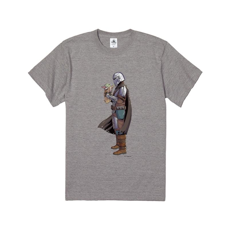 【D-Made】Tシャツ マンダロリアン シーズン2 マンダロリアン&ザ・チャイルド