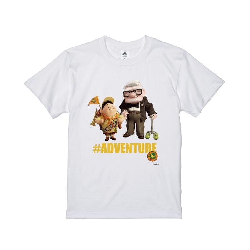 【D-Made】Tシャツ カールじいさんの空飛ぶ家 カール・フレドリクセン&ラッセル・キム