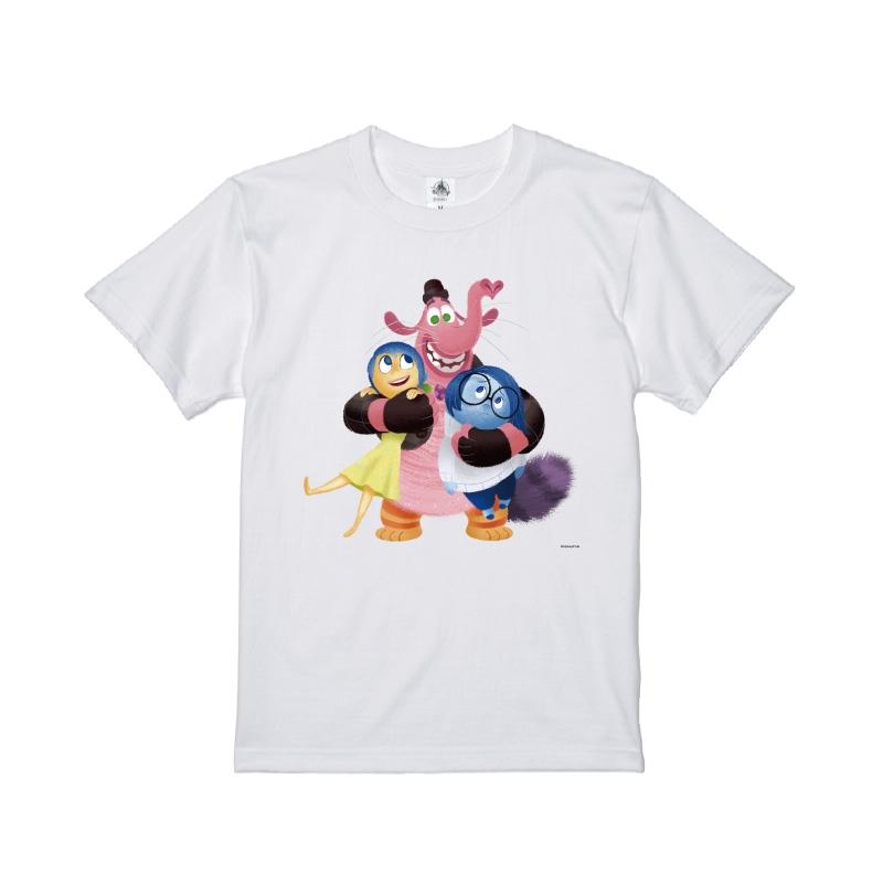 【D-Made】Tシャツ  インサイド・ヘッド ヨロコビ&カナシミ&ビンボン