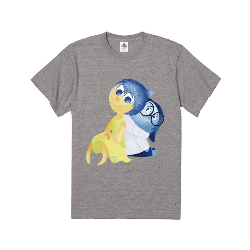 【D-Made】Tシャツ  インサイド・ヘッド ヨロコビ&カナシミ